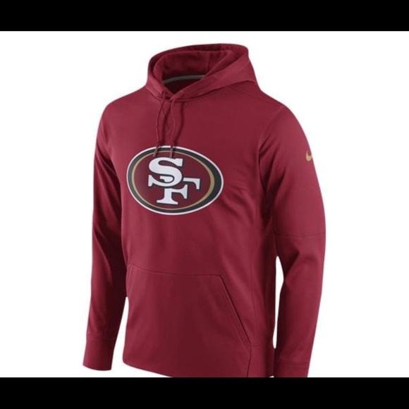 Nike 49ers hoodie NWT